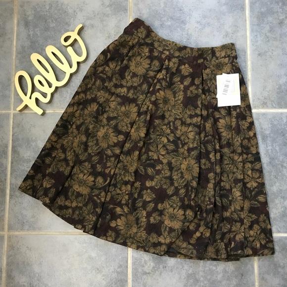 LuLaRoe Dresses & Skirts - NWT Lularoe Madison Floral Skater Skirt S